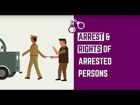Arrest and Rights of Arrested Persons | FIR | Bail | Factly