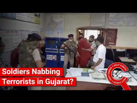 FACT CHECK: Does Video Show Soldiers Nabbing Terrorists at Dahod Railway Station, Gujarat?