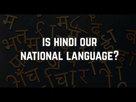 Is Hindi our National Language? || Factly