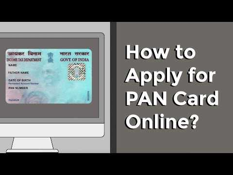 How to apply for a PAN card online? || Factly