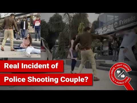 FACT CHECK: Does Video Show Real Incident of Police Shooting Couple in Public?