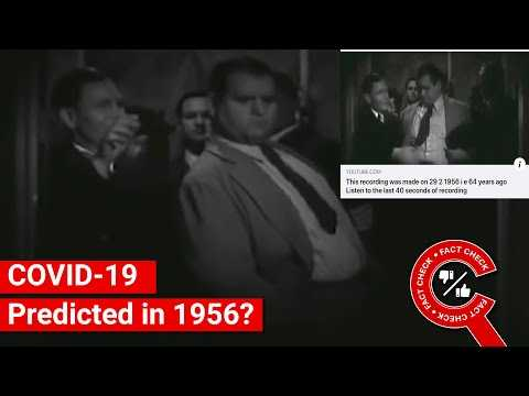 FACT CHECK: Does Video Show 1956 Prediction of COVID-19 Pandemic? || Factly