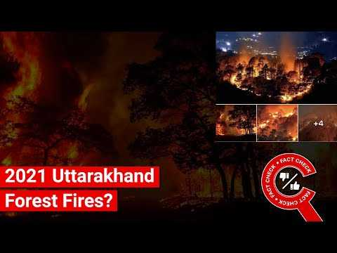 FACT CHECK: Do All Images in Viral Post Show Recent Uttarakhand Forest Fires? || Factly