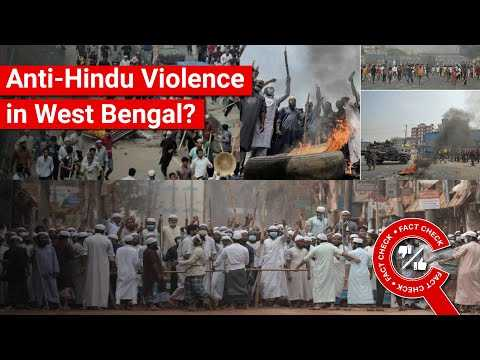 FACT CHECK: Do Viral Images Depict Anti-Hindu Violence in West Bengal?