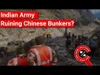 FACT CHECK: Does Video Show Indian Army Demolishing Chinese Bunkers near Pangong Lake?