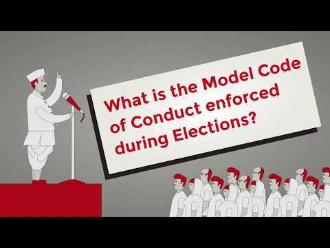 What is the Model Code of Conduct enforced during Elections? || Factly