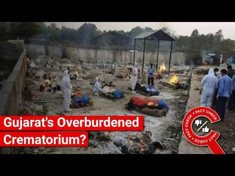 FACT CHECK: Does Image Show Overburdened Gujarat Crematorium? || Factly